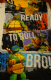Teenage Mutant Ninga Turtles character beach towel.